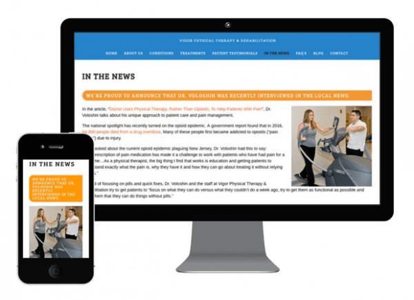 Web Design Mockups - Cilderman Solutions