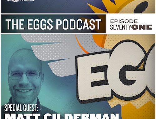 Eggs Podcast: Overcoming Crippling Perfectionism so You can Publish Content