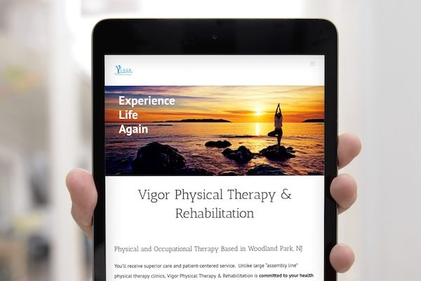 Vigor PT Web Design Case Study